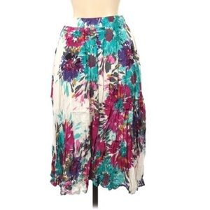 Old Navy Floral Flowy Skirt